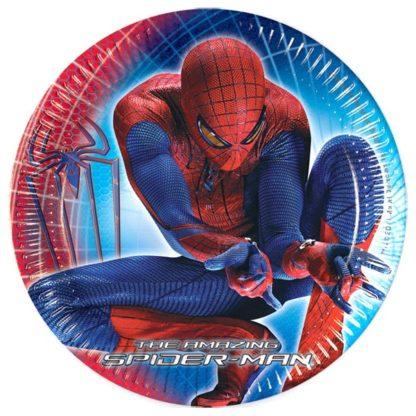 одноразовая посуда человек паук