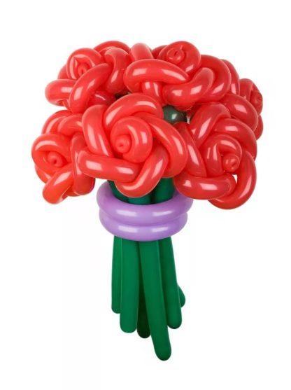 роза из шаров